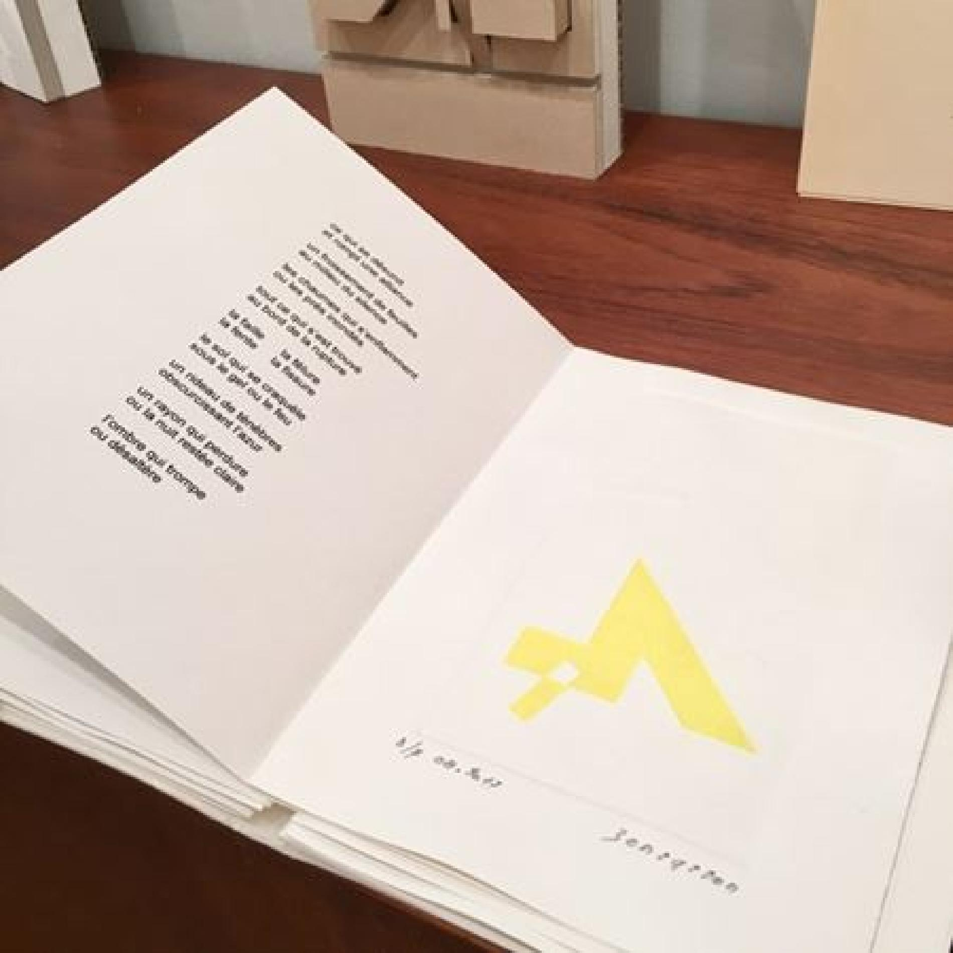 Roger Bensasson Geometry opens onto the infinite Presentation of art books made with Jean-Pierre Geay Saturday June 16, 2018
